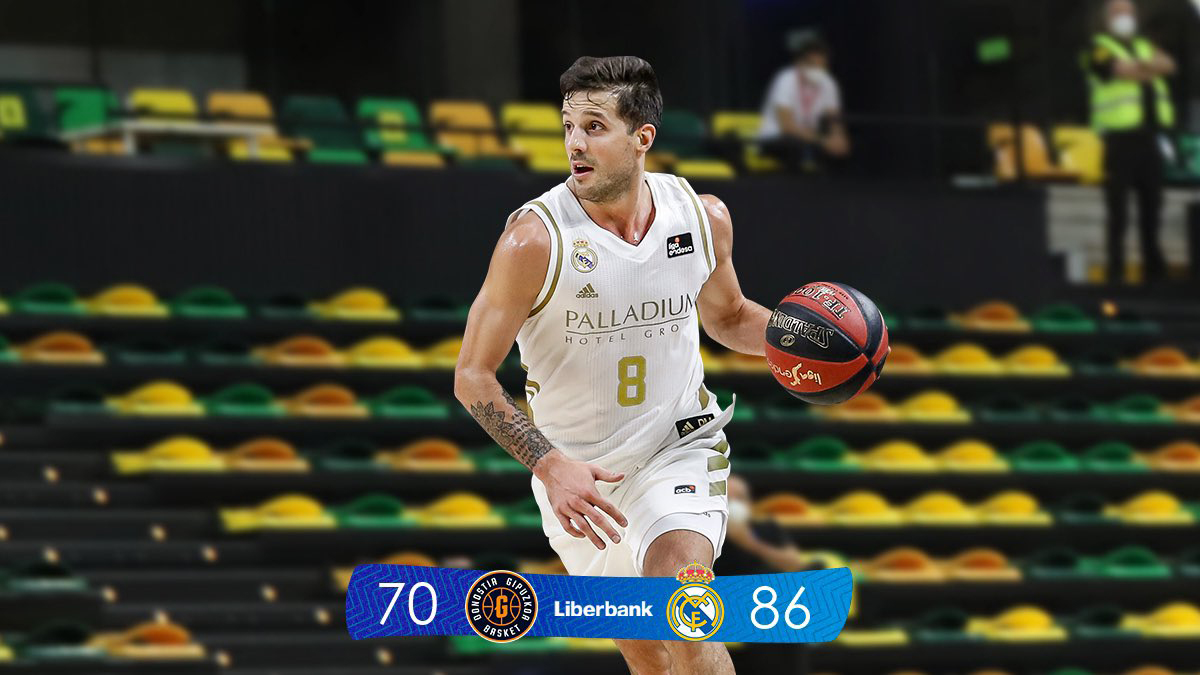 FOTO REAL MADRID BALONCESTO DETERMINANTE./ El argentino Laprovittola.