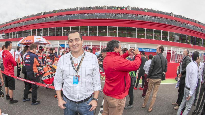 Moto GP: Viñales aprovechó la caída de Márquez y festejó en Termas