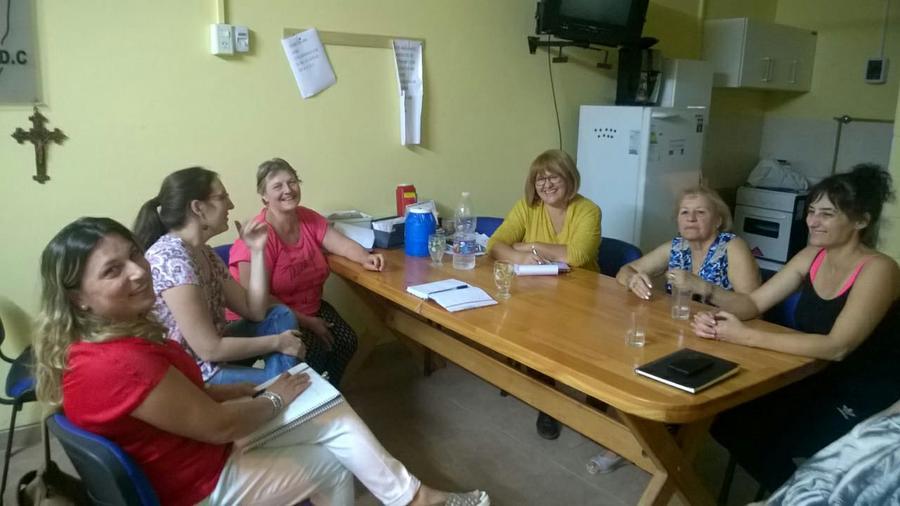 FOTO PRENSA UCES// ENCUENTRO./ Se sentaron las bases para un trabajo en conjunto.