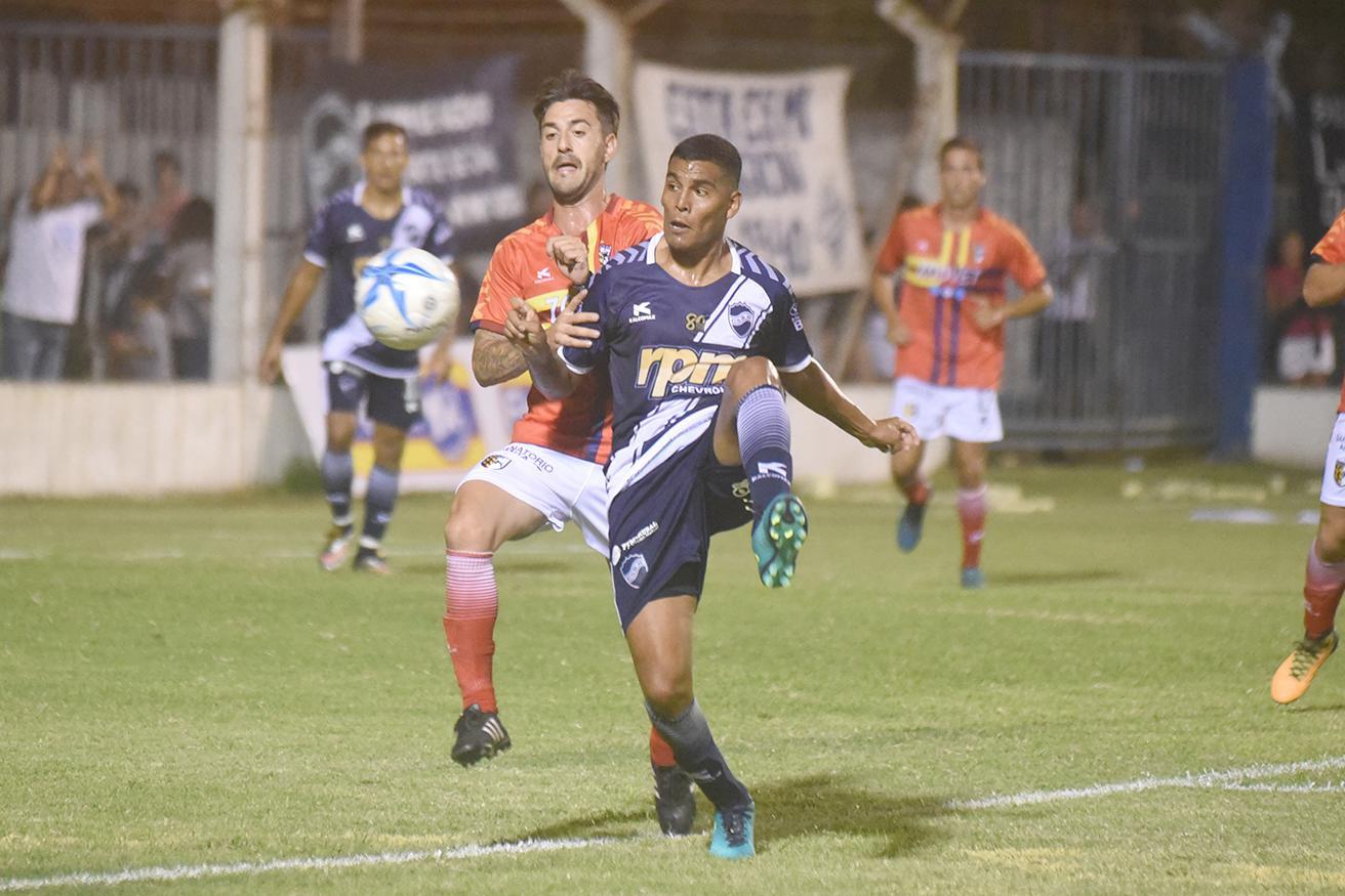 FOTO ARCHIVO GOLEADA./ Marcos Quiroga ingresó en el segundo tiempo.