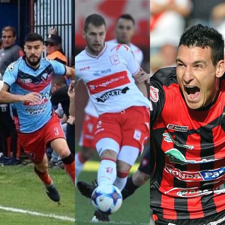 FOTO WEB LOS NUEVOS / Ignacio Liporace, Franco Racca y Leonardo Acosta se suman a la 'Crema'.