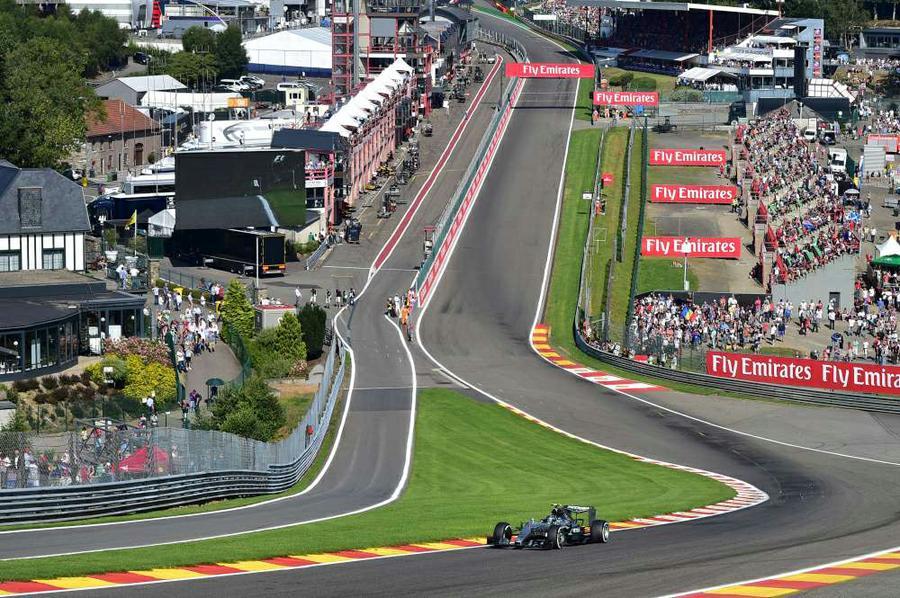 Circuito De Spa Francorchamps : Fue elegido mejor circuito el de spa francorchamps