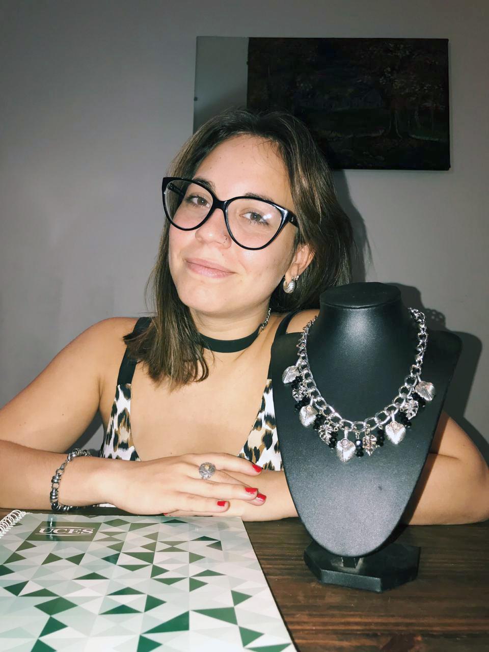 FOTO PRENSA UCES// PALOMA LUQUE./ Una de las estudiantes de la carrera.