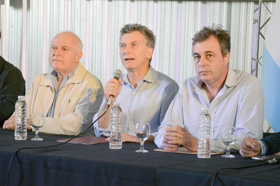 FOTO ARCHIVO MACRI. Será su segunda visita como Presidente a Rafaela.
